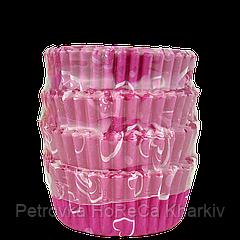 Кондитерские формы из бумаги для маффинов и капкейков. 55*45*25 мм (уп 100 шт)