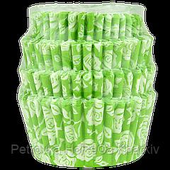 Кондитерские формы из бумаги для маффинов и капкейков. 75*45*30 мм (уп 100шт)