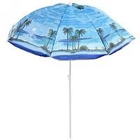 Пляжный Зонт 85M 1.80 м, Спицы системы ромашка, с наклоном и напылением