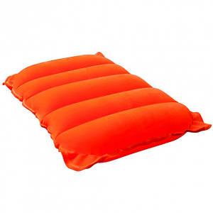 Надувная подушка Bestway Travel Pillow Orange 67485