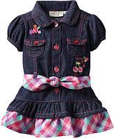 """Платье джинсовое для девочки """"Саrter"""". Размер: 12 мес., 18 мес., 24 мес."""