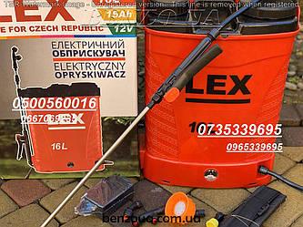 Опрыскиватель аккумуляторный LEX AES-16 PROFi  15 амп\час Чехия