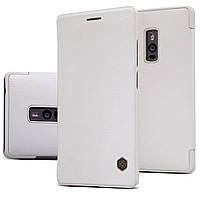 Кожаный чехол Nillkin Qin для OnePlus 2 белый