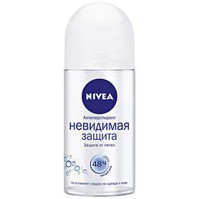 Дезодорант шариковый Nivea Невидимая защита 50 мл