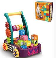Конструктор-толокар Jixin 5866 12 ярких кубиков 010605, КОД: 1519310