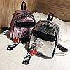 Женский рюкзак мини с брелком M+Love 🎁 В подарок браслет и кукла, фото 5