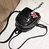 Женский рюкзак мини с брелком M+Love 🎁 В подарок браслет и кукла, фото 6
