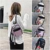 Женский рюкзак мини с брелком M+Love 🎁 В подарок браслет и кукла, фото 2