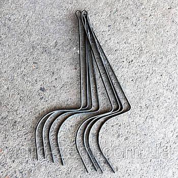 Граблины, спицы на грабли ворошилки (черные)