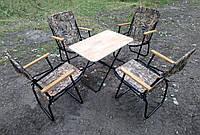 """Набор складной мебели для пикника """" Турист"""" (стол + 4 кресла)"""
