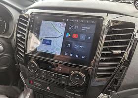Штатная Android Магнитола на Mitsubishi Pagero 2016-2018 Model P6/P8-solution (М-МПн-9-Р8)