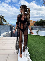 Женская парео рубашка пляжная (42-46)