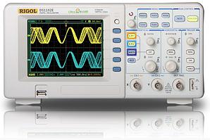 Цифровий осцилограф Rigol DS1102E ( 100 МГц, 2 каналу, 1Гвыб/з (реальний час), 25 Гвыб/с (еквів.режим))