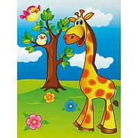 Роспись по холсту Веселый жирафик 18х24 7100 1, КОД: 1495537