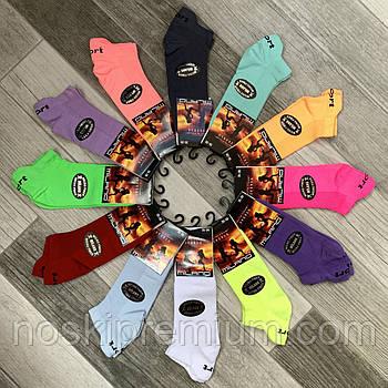 Носки женские спортивные сетка микрофибра SPORT Milano, Турция, 35-39 размер, цветное ассорти, 02862