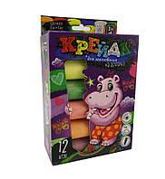 Мел для рисования на асфальте Danko Toys БОЛ 12 шт Разноцветный MEL-01-06, КОД: 1331902