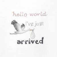 Набор для вышивания нитками LETISTITCH A gift for a newborn (LETI 931)