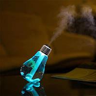 Светящийся увлажнитель воздуха ReStEq в виде лампочки Разноцветный 909245342, КОД: 1698262