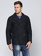 Мужское демисезонное пальто Gap S Темно-синее 7173096-S, КОД: 1464732