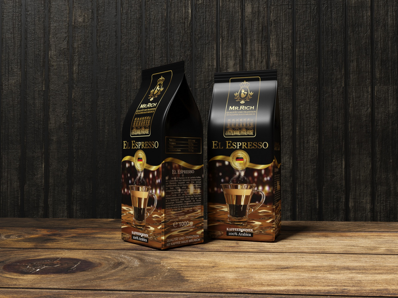 Mr.Rich El Espresso 1000 р. зерно