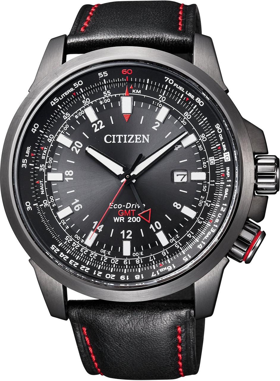 Мужские часы Citizen BJ7076-00 Promaster GMT