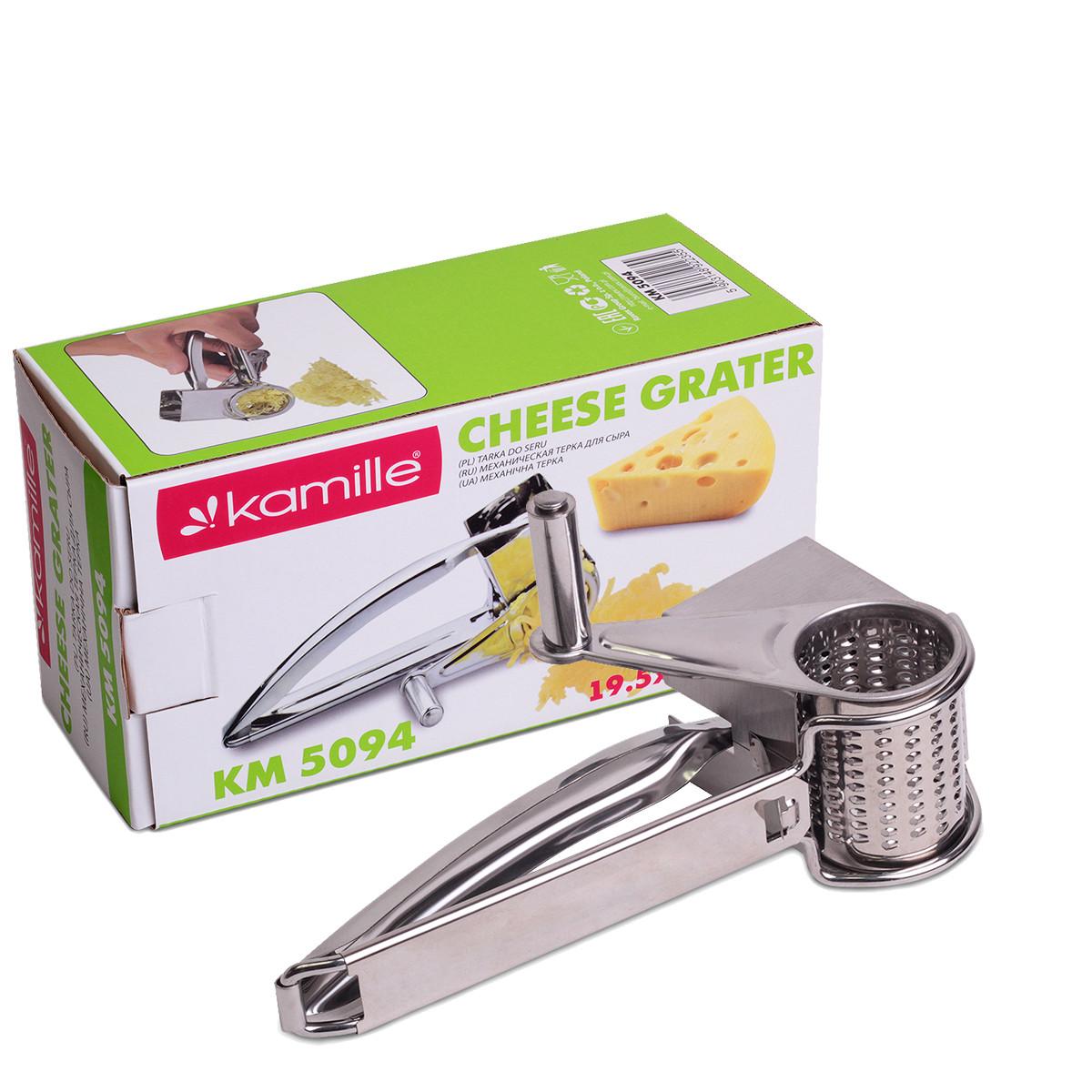 Механическая терка для сыра Kamille 19,5*10*8 см. KM-5094