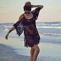 Женское парео туника пляжная  (44-48), фото 1