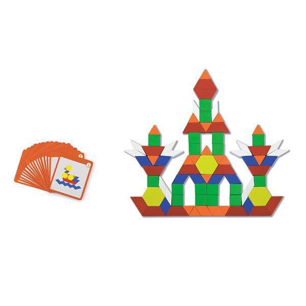 Набор Viga Toys Блоки геометрические на магнитах 102 эл. (50669)