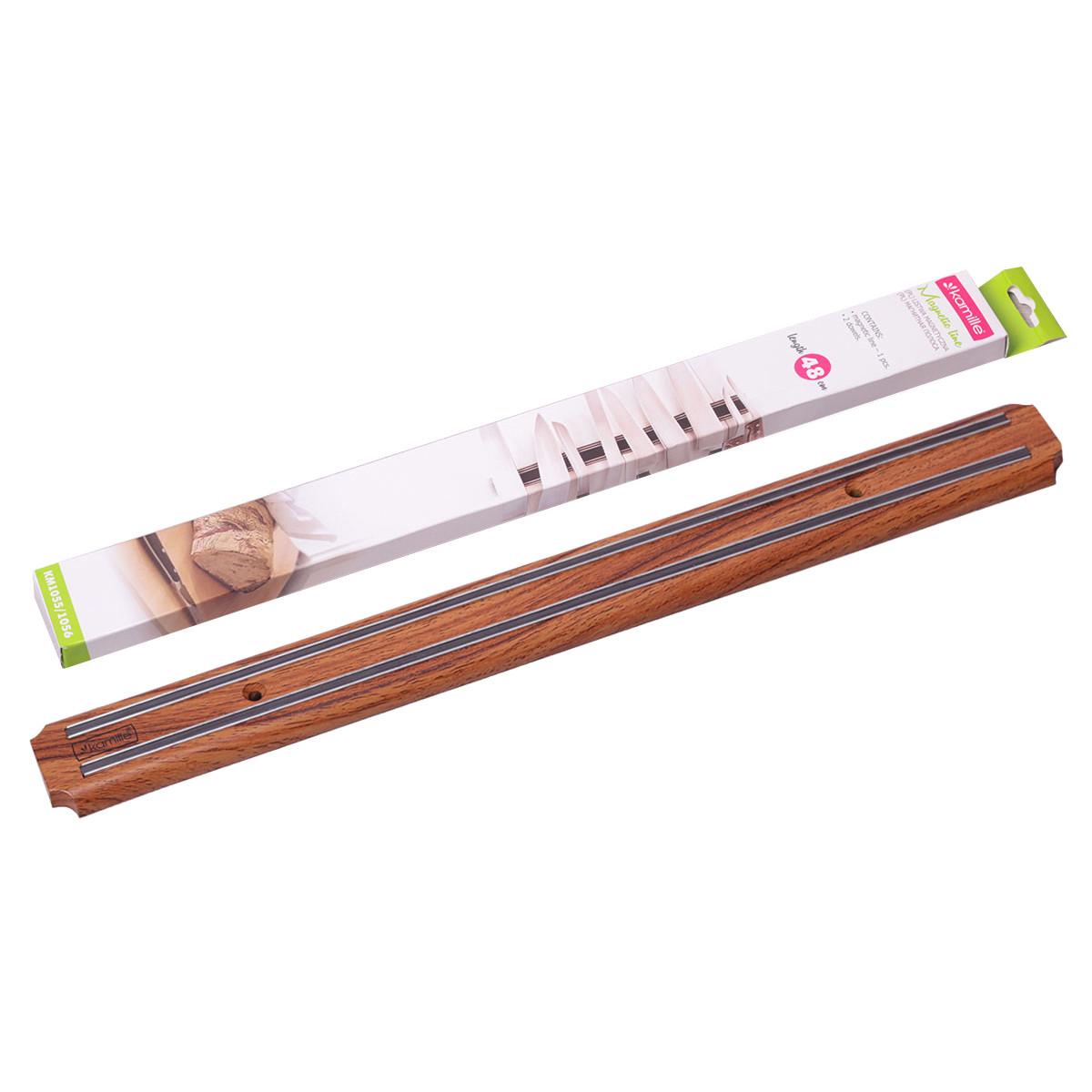 Держатель магнитный для ножей Kamille 48см KM-1055