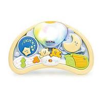 """Музыкальный ночник Weina """"Мишки на воздушном шаре"""" (2147)"""
