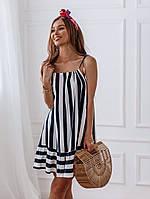 Женское летнее платье прямого кроя (с-л), фото 1