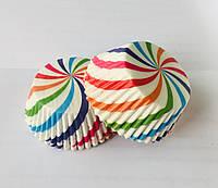 Формы бумажные для выпечки кексов, капкейков