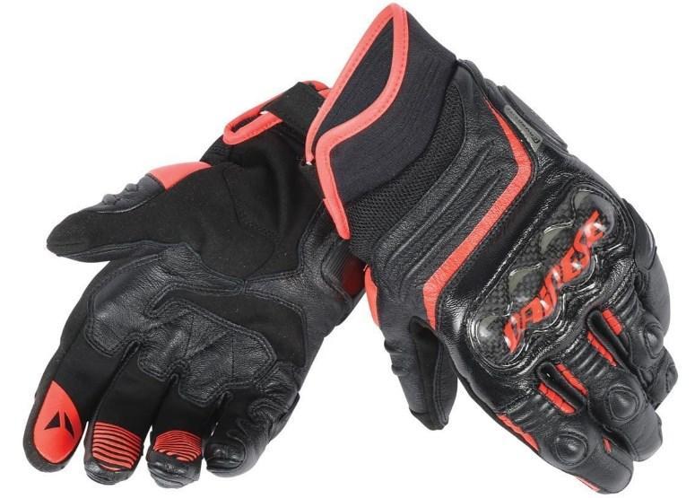 Мотоперчатки Dainese Carbon D1 Short Black/Red