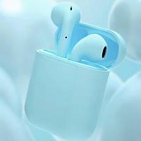 Беспроводные наушники HBQ I11 TWS Bluetooth высокого качества Голубой