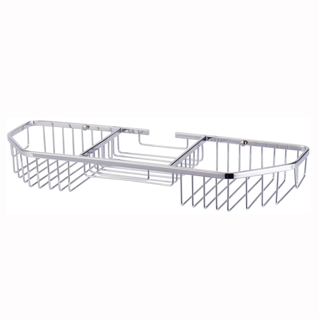 Корзинка для ванной Besser прямоугольная 40.5*13*5см с 3 секциями KM-8506