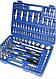 Набор Инструментов Ключей (Головок) Rainberg RB, 108 Единиц+Кейс, фото 4