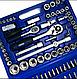 Набор Инструментов Ключей (Головок) Rainberg RB, 108 Единиц+Кейс, фото 3