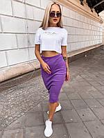 Комплект футболка с юбкой (С-Л), фото 1