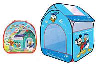 Намет дитячий YG Toys З малюнками мультгероїв в сумці 82*90*106см. Голубий А999-107