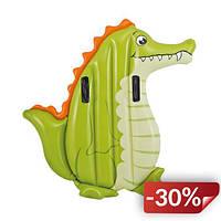 Надувной плот Intex 58151 Animal Riders с ручками Крокодил (int58151_1)