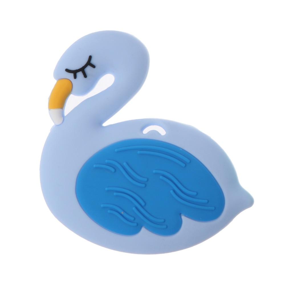 Прорезыватель Фламинго, синий