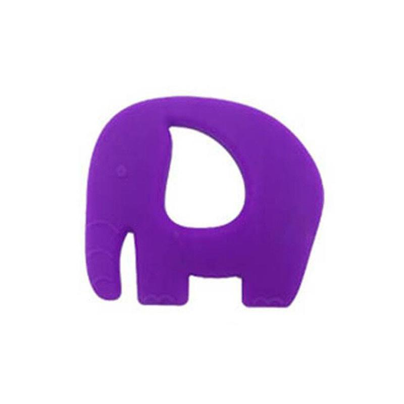 Прорезыватель Слоненок, фиолетовый