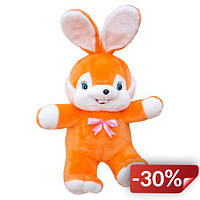 Мягкая игрушка Kronos Toys Заяц Сеня 73 см Оранжевый (zol_039-4)