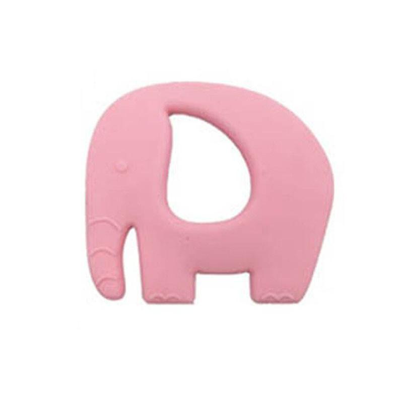 Прорезыватель Слоненок, розовый