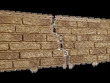 Фасадные панели U-Plast Stone House Кварцит (темно-бежевый)