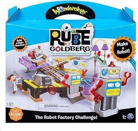 Игровой набор Spin Master Rube Goldberg Завод по производству роботов