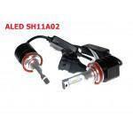 Лампы светодиодные ALed S H11 5500K 20W SH11A02 (2шт)