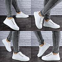 Женские кеды летние белые Bruiser 1787 Размер 38 - 24 см по стельке, обувь женская