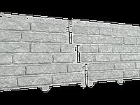 Фасадные панели U-Plast Stone House Кварцит (светло-серый)