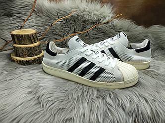 Женские кроссовки Adidas Superstar 80s Primeknit (39 размер) бу